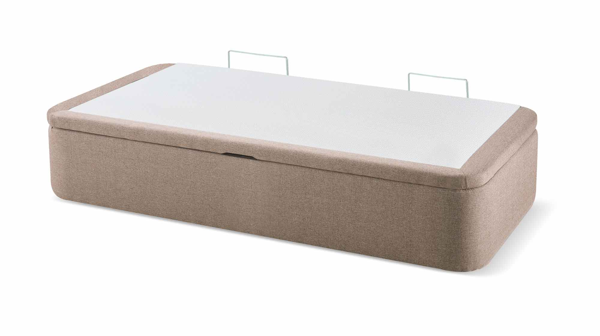 Canap abatible lateral tapa marco maxcolchon for Canape 90x200