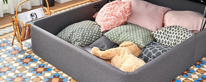 interior canapé