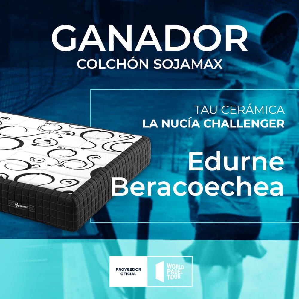 Ganador sorteo Sojamax La Nucia Challenger