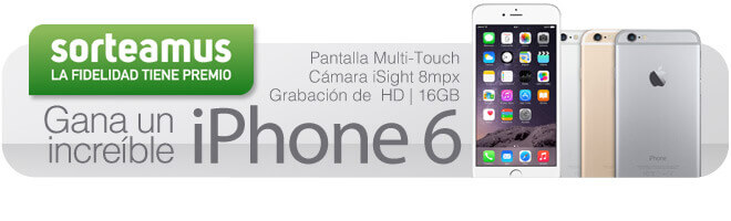 Sorteo iPhone