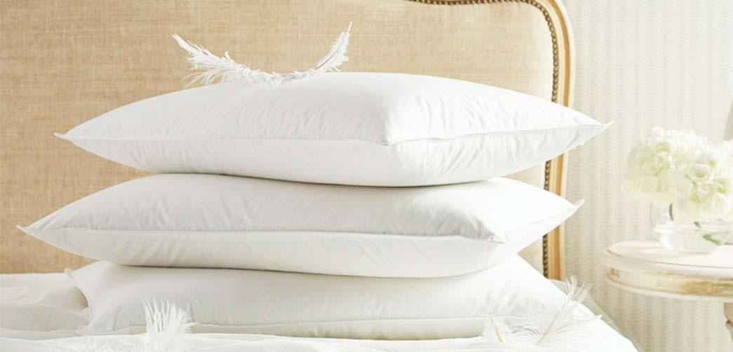 Como lavar almohadas de plumas